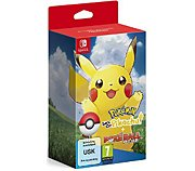 Nintendo Pokémon Let's Go Pikachu+Poké Ball Plus