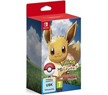 Jeu Switch Nintendo Pokémon Let's Go Évoli+Poké Ball Plus
