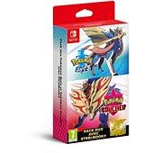 Jeu Switch Nintendo Pack Pokemon Epée + Bouclier + Steelbook