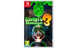 Jeu Switch Nintendo Luigi's Mansion 3