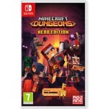 Jeu Switch Nintendo  Minecraft Dungeons - Hero Edition