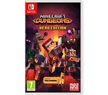 Jeu Switch Nintendo  Minecraft Dungeons - Hero Edition