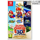Jeu Switch Nintendo Super Mario 3D All Stars
