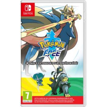 Nintendo Pokémon Épée+Pass d'Extension pr Pok.Epé