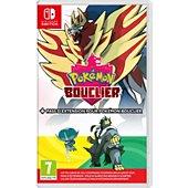 Jeu Switch Nintendo Pokémon Bouclier+Pass Extension pr Pok.B