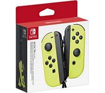 Manette Nintendo  Paire de Manettes Joy-Con Jaune néon