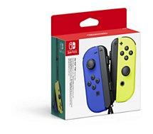 Manette Nintendo  Paire de Manettes Joy-Con Bleu/Jaune
