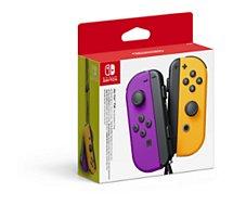 Manette Nintendo  Paire de Manettes Joy-Con Violet/Orange