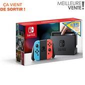 Console Nintendo Switch Bleu / Rouge Ed Limitée 35e Eshop