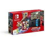 Console Nintendo  Switch 2019 Bleue / Rouge + Mario Kart 8