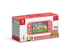 Console Switch Lite Nintendo  Switch Lite Corail+AC+contenu