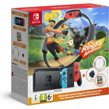 Nintendo Switch+ring fit