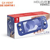 Console Switch Lite Nintendo Switch Lite Bleue