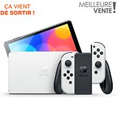 Console Nintendo Switch Modèle OLED Blanche