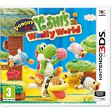 Jeu 3DS Nintendo Poochy & Yoshi's Woolly World