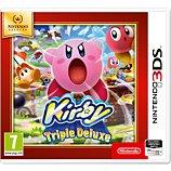 Jeu 3DS Nintendo Kirby Triple Deluxe Selects