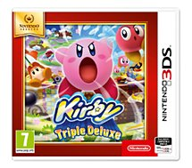 Jeu 3DS Nintendo Kirby Triple Deluxe Selects