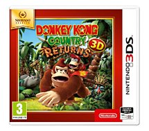 Jeu 3DS Nintendo  Donkey Kong Country Returns Selects