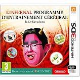 Jeu 3DS Nintendo Programme d'entrainement du Dr Kawashima