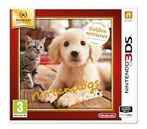 Jeu 3DS Nintendo Nintendogs Golden Retriever Selects