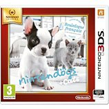 Jeu 3DS Nintendo  Nintendogs Bouledogue Selects