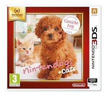 Jeu 3DS Nintendo Nintendogs Caniche Selects