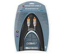 Câble subwoofer Monstercable 400sw High 5M Performance