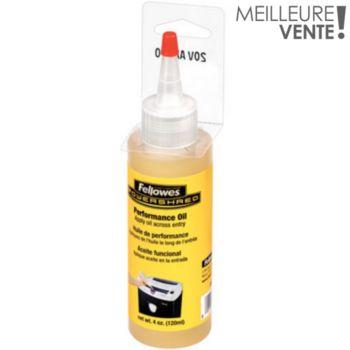 Fellowes Huile lubrifiante 120ml pour destructeur