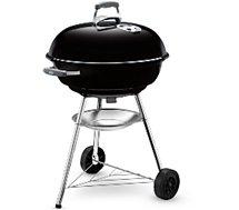 Barbecue charbon Weber  COMPACT KETTLE 57 cm noir