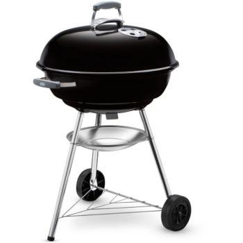 Weber Barbecue A Charbon Compact Bouilloire Noire 57 CM Noir