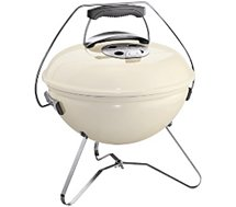 Barbecue charbon Weber  SMOKEY JOE PREMIUM 37cm Ivory White