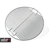 Grille barbecue Weber de cuisson chromée pour barbecue 47 cm