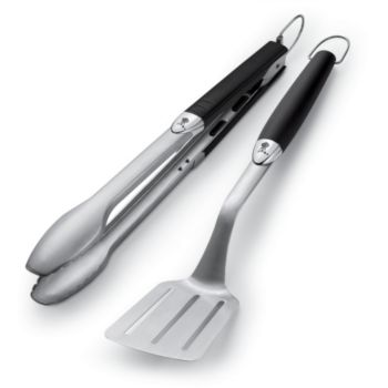 Weber 2 accessoires en acier inoxydable
