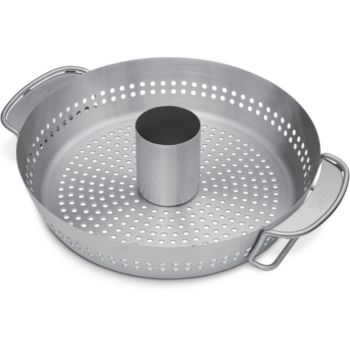 Weber cuisson poulet GSB Gourmet BBQ System