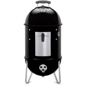 barbecue charbon de bois weber smokey moutain cooker 37 cm black boulanger. Black Bedroom Furniture Sets. Home Design Ideas