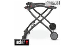 Chariot barbecue Weber pliable pour Q1000 et Q2000