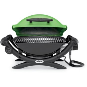 weber q1400 green barbecue lectrique boulanger. Black Bedroom Furniture Sets. Home Design Ideas