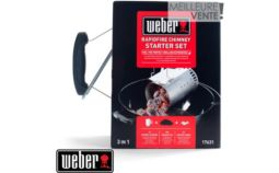 Kit cheminée barbecue Weber Cheminée allumage