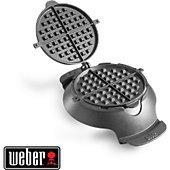 Croque monsieur et gaufrier barbecue Weber Gourmet BBQ System