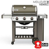 Barbecue gaz Weber Genesis II E-310 GBS Smoke Grey