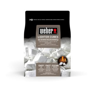 Weber de 24 cubes allume-feux blancs