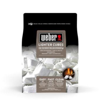 Weber de 22 cubes allume-feux blancs