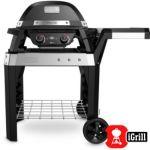 Barbecue électrique Weber PULSE 2000 noir avec chariot