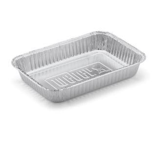 Weber petites barquettes aluminium - Lot de 10