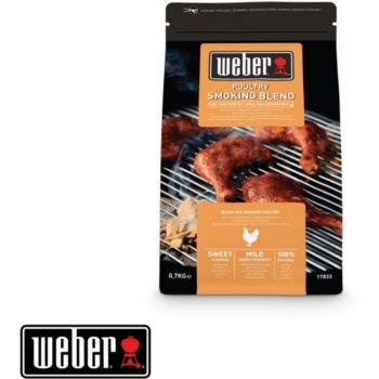 Weber bois de fumage pour volaille