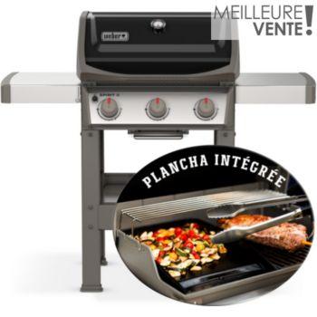 Weber Spirit II E-310 Gas Grill plancha