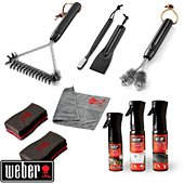 Kit de nettoyage Weber KIT NETTOYAGE BBQ GAZ INOX