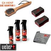 Kit de nettoyage Weber KIT NETTOYAGE BBQ CHARBON EMAILLE