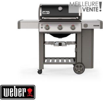 Weber Genesis II E-310 plancha black