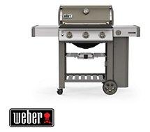 Barbecue gaz Weber  Genesis II E-310 plancha smoke grey